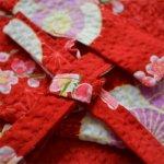 画像3: [子供甚平]傘と梅(赤) (3)