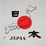 画像3: 【大幅値下】[Tシャツ]  地図日本 (ホワイト) (3)