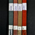 画像4: [三分紐]京染内記組「紫野染(しのぞめ)」並尺 (4)