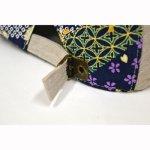 画像3: 【帽子】 刺繍ハンチング 紅鯉桜/オフ (3)