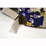 画像3: 【帽子】 刺繍ハンチング 流水桜/オフ (3)