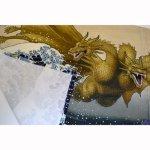 画像3: [暖簾(のれん)]富嶽キングギドラ 【GODZILLA/ゴジラシリーズ】 (3)