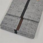 画像2: 【祭衣装】 唐桟角帯 グレー (2)