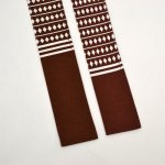 画像3: 【祭衣装】 子供用祭帯(ソロバン茶)並尺/長尺 (3)