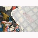 画像5: 【手拭い】 国芳の浮世絵二重ガーゼ手拭い「がしゃどくろ」  (5)