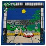 画像1: 【小風呂敷】【三毛猫みけの夢日記】 「みけとお月様」 (1)