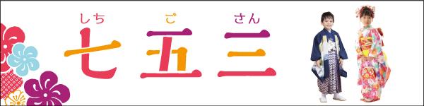 七五三(しちごさん) 753  BtoB専門オンライン仕入れサイトウエダウェブby上田嘉一朗商店