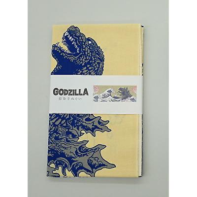 捺染手拭いGODZILLAゴジラシリーズオンライン仕入れサイトウエダウェブby上田嘉一朗商店