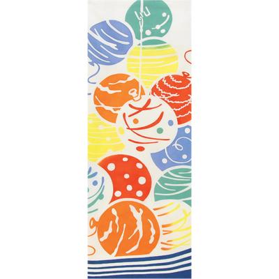画像1: [和布華:注染手拭い]水風船 (1)