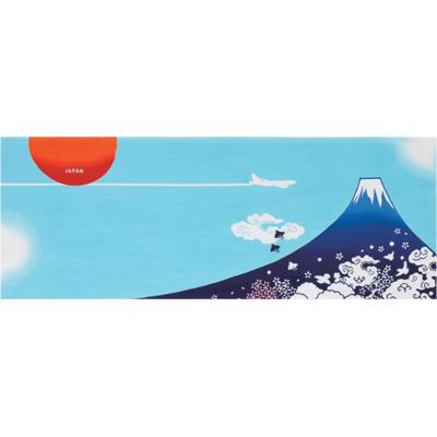 画像1: [和布華:注染手拭い]富士山 (1)