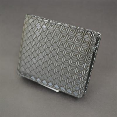 画像1: [甲州印傳]【印傳屋】 二つ折り財布 タイプJ 2006 (1)