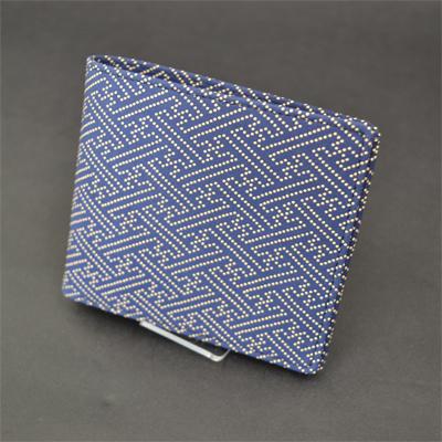 画像1: [甲州印傳]【印傳屋】 二つ折り財布 タイプC 2003 (1)