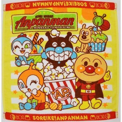 画像1: 【アンパンマン・タオル】 ウエットタオル  おやつタイム (1)