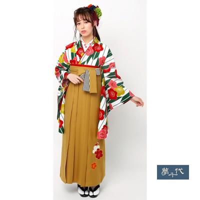 画像1: 【卒業衣装】 【夢千代】 二尺袖着物  (1)