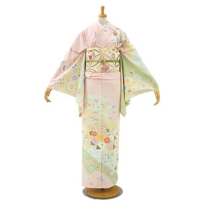 画像1: 【訪問着】 合繊訪問着 JAPAN STYLE  (1)