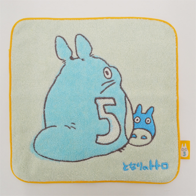 画像1: 【となりのトトロ】 ミニタオル トトロ5 (1)