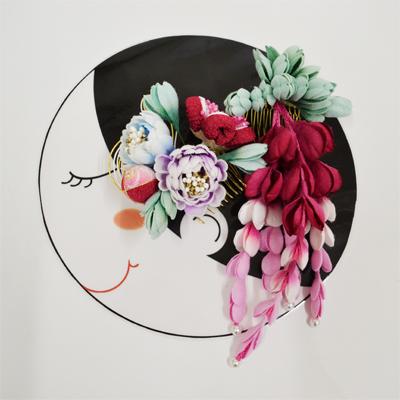 画像1: 【髪飾り】 成人式/花かんざしセット  (1)