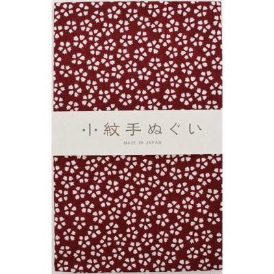 画像1: [泉紅梅:小紋手拭]桜(小) (1)