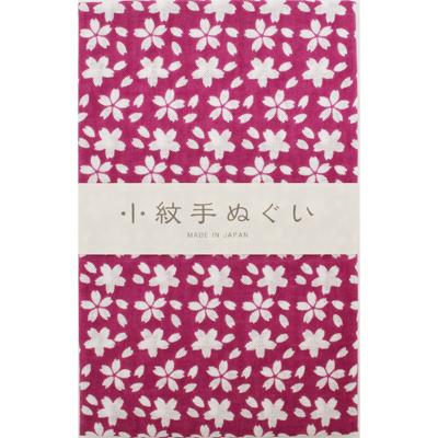 画像1: [泉紅梅:小紋手拭]桜(大) (1)