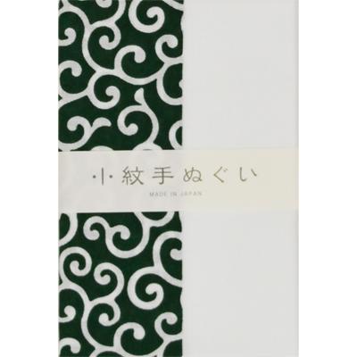 画像1: [泉紅梅:小紋手拭]通し柄(唐草) (1)