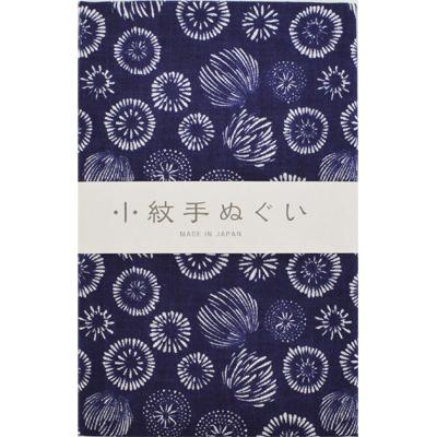 画像1: [泉紅梅:小紋手拭]花火 (1)