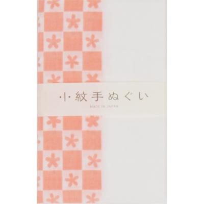 画像1: [泉紅梅:小紋手拭]通し柄(桜市松) (1)