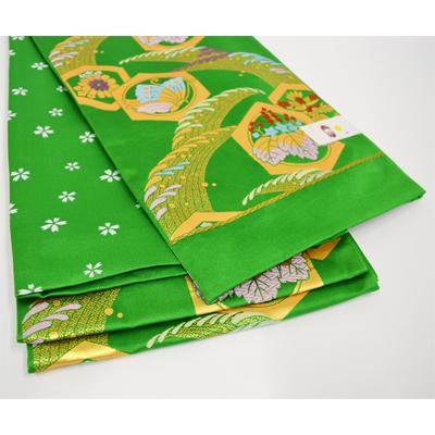 画像1: 【七五三】 合繊袋帯 (1)