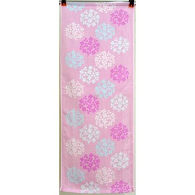 画像1: [フェイスタオル] 撫子多織 紫陽花 (1)