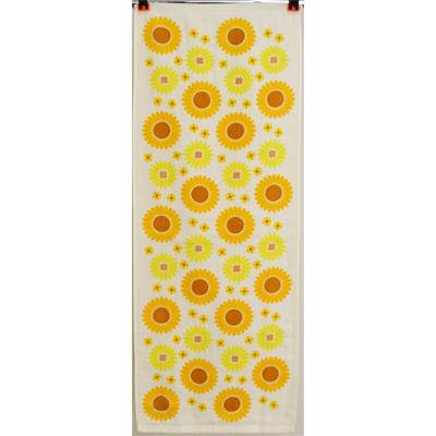 画像1: [フェイスタオル] 撫子多織 向日葵 (1)