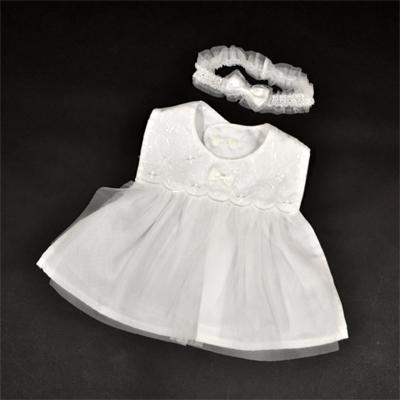画像1: 【BABY】 ドレスアップビブ&ヘアバンド 女の子 (1)