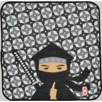 画像1: 日本タオルはんかち 忍者 (1)