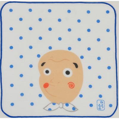 画像1: 日本タオルはんかち ひょっとこ (1)