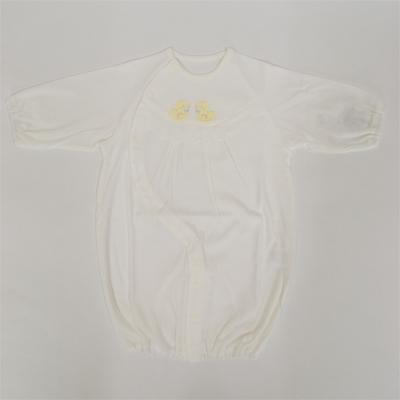 画像1: 【BABY】 コンビドレス ホワイト (1)