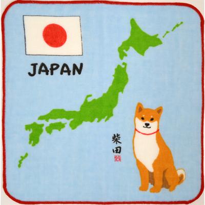 画像1: [ガーゼタオル] 【柴犬】 ジャパンしばたさん (1)