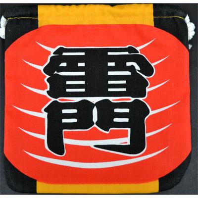 画像1: 【巾着】  雷門巾着 (1)