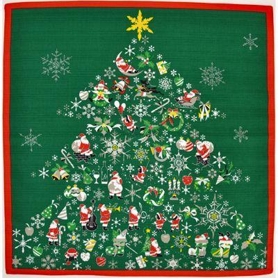 画像1: 【小風呂敷】【彩時記】 クリスマス (1)