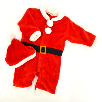画像1: 🎅【BABY】  着ぐるみオール サンタクロース (1)
