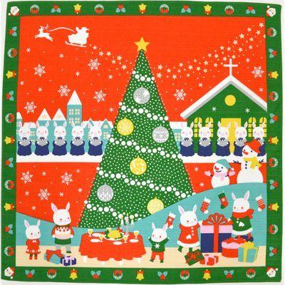 画像1: 【小風呂敷】【四季彩布】 クリスマス (1)