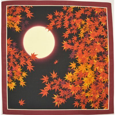 画像1: 【小風呂敷】 日本の秋 (1)