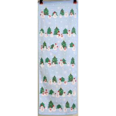 画像1: [ガーゼ手拭い] ふんわり手拭い クリスマス (1)