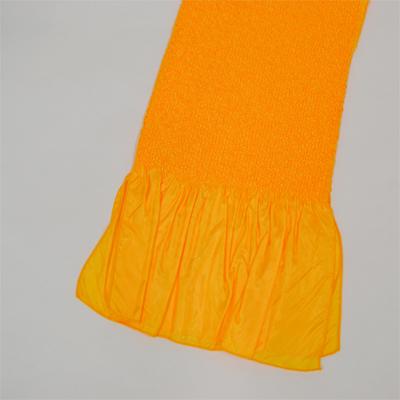 画像1: 【振袖用帯揚げ】 Stitch 絞り帯揚げ オレンジ (1)