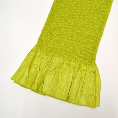 画像1: 【振袖用帯揚げ】 Stitch 絞り帯揚げ 柳 (1)