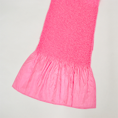 画像1: 【振袖用帯揚げ】 Stitch 絞り帯揚げ ピンク (1)