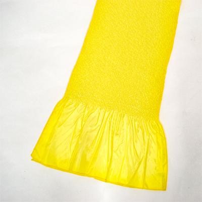 画像1: 【振袖用帯揚げ】 Stitch 絞り帯揚げ レモン (1)
