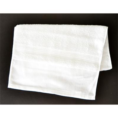 画像1: 【フェイスタオル】 定番白タオル オールパイル (1)