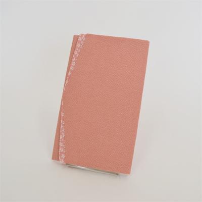 画像1: 【ふくさ】 ちりめん桜小紋 金封ふくさ (ピンク) (1)