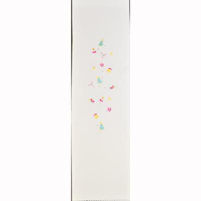 画像1: 【半衿】🎄【クリスマス限定】 刺繍/ラインストーン半衿 (1)