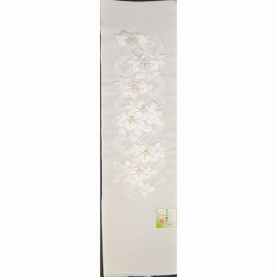 画像1: 【刺繍半襟】【草花刺繍衿】 ポリエステル 刺繍半衿 (1)
