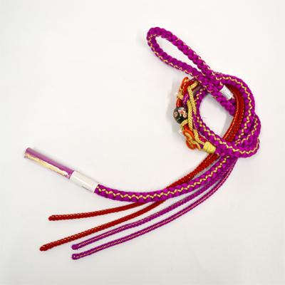 画像1: 【帯締め】 振袖用飾り付き帯締め  (1)