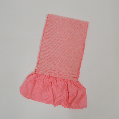 画像1: 【振袖用帯揚げ】 正絹四ツ巻絞り帯揚げ (1)